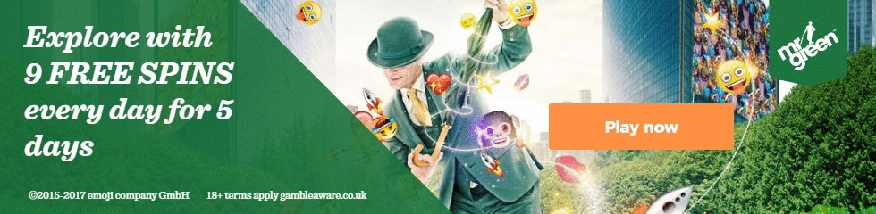 Emoji Mr Green
