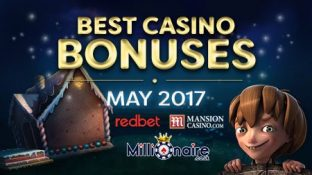 No Deposit Bonuses for May 2017