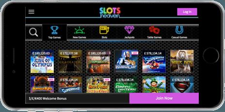 Slots Heaven Mobile Casino