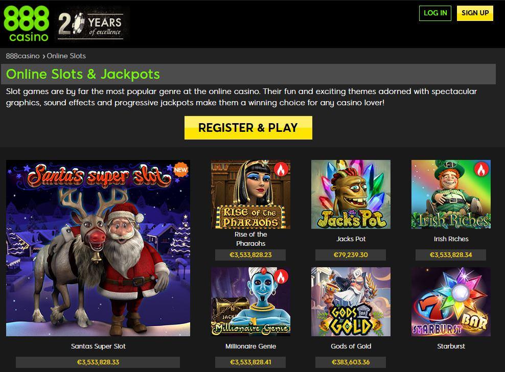 online casino play casino games at 888casino.com