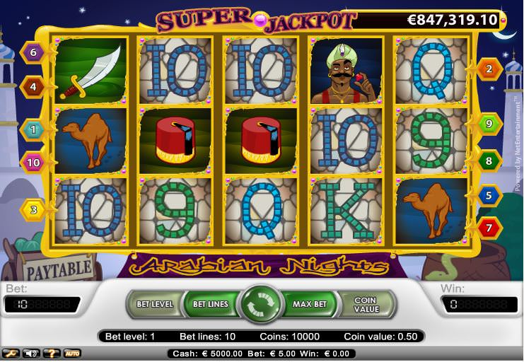 Arabian Nights Casino Game