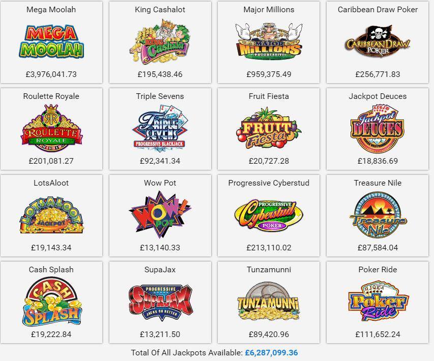 Luxury Casino Jackpots