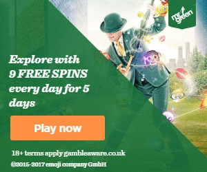 Mr Green 7 Day Free Spins