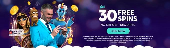 Winks Slots Welcome Bonus