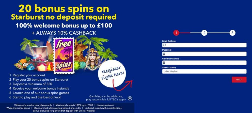 ALL BRITISH CASINO FREE SPINS
