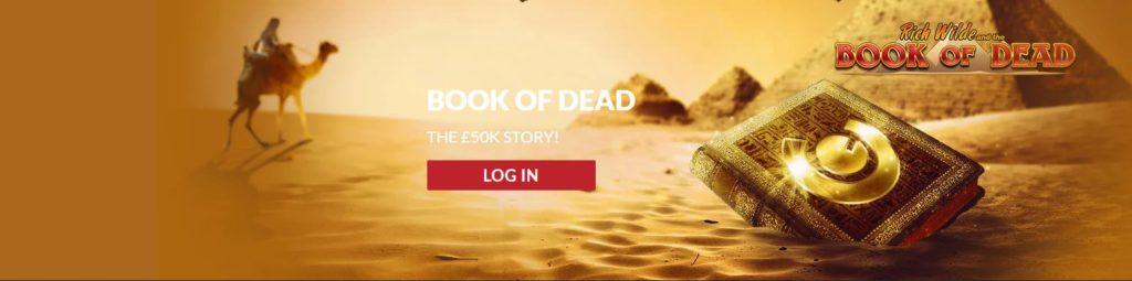 Book of the dead guts casino