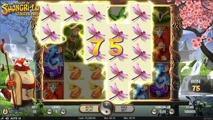 NetEnt Shangri-La Casino Slot