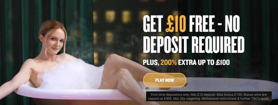 Foxy Casino £10 Free Cash and a 200% Bonus