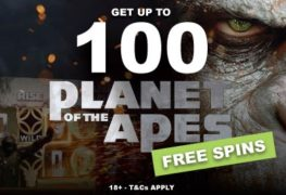 Planet of the Apes Free Spins