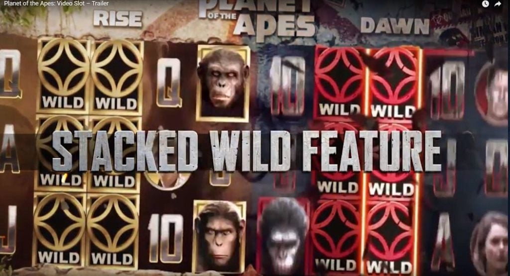 Planet of the Apes - Casumo Casino
