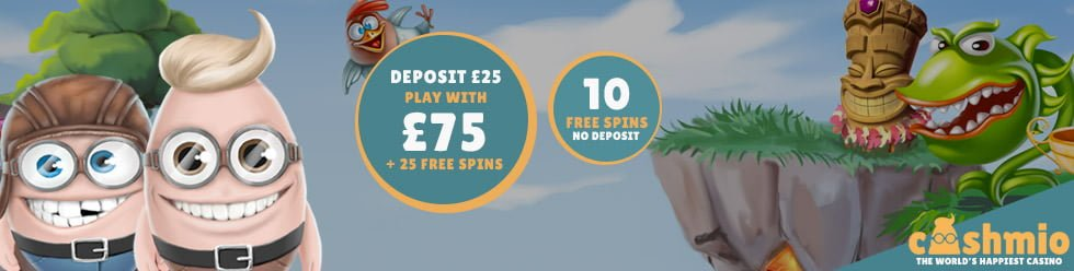 cashmio 10 free spins