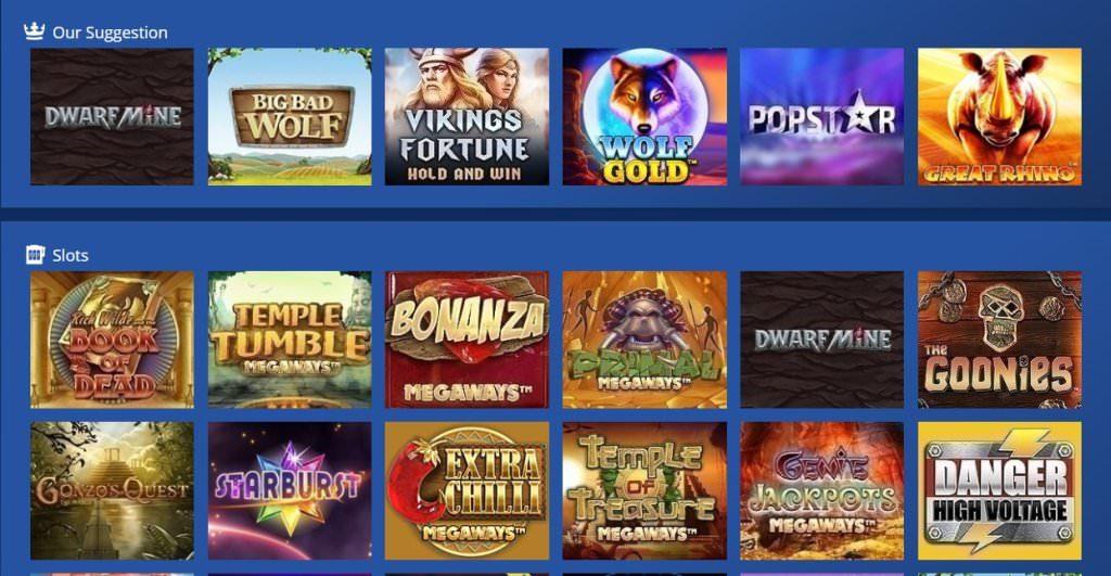 Casino Heroes Games