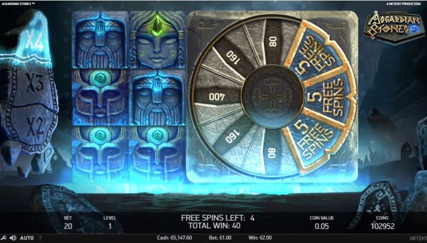 asgardian stones bonus wheel