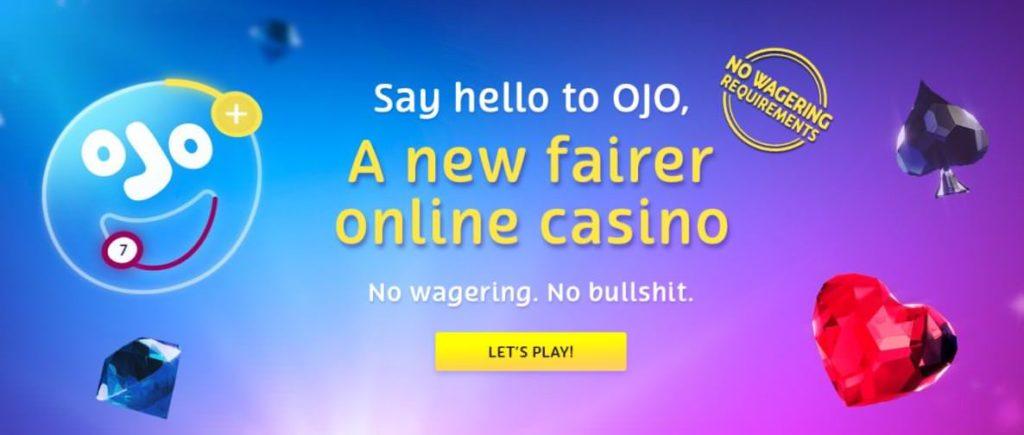PlayOjo Wager Free Bonus