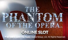 phantom of the opera video slot