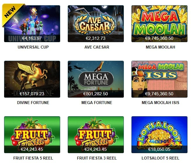 21 Casino Jackpots
