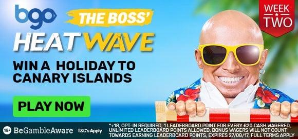 BGO Beat the Boss Bingo
