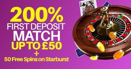 monster casino 1ST deposit match