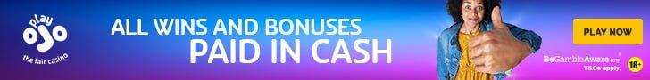 PlayOJO cash