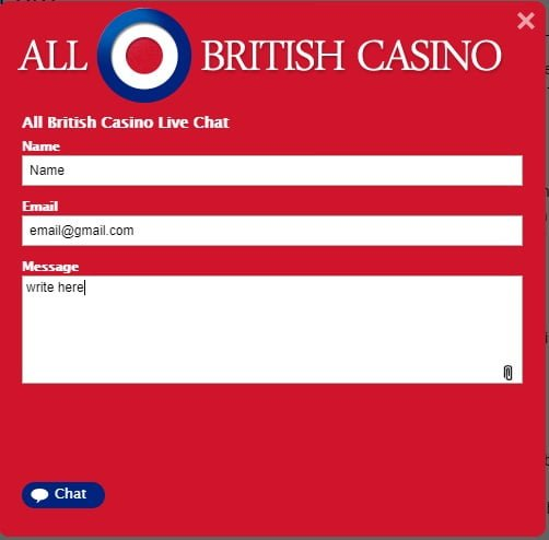 all british casino chat