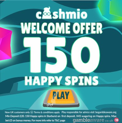 cashmio uk bonus