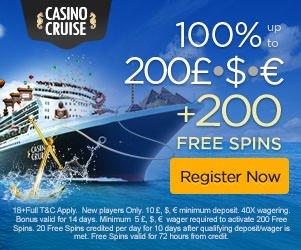 casino cruise uk bonus