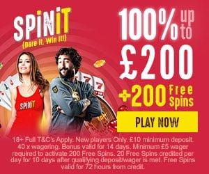spinit uk bonus