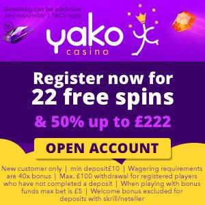 yako 22 casino