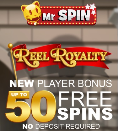 mr spin 50 free spins