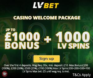 lve bet casino bonus