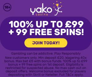 yako 99 free spins