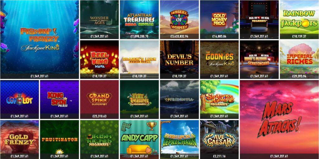 Slotnite Jackpot Games